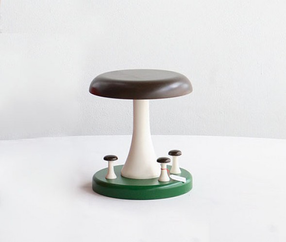 Aamu Song and Johan Olin / Company: Tattijakkara (Mushroom Stool)