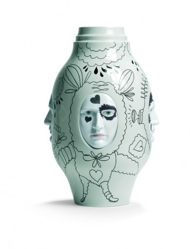 Jaime Hayón: Konverzační váza II / Fantasy Collection, 2010, Lladró