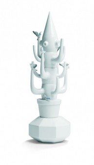 Jaime Hayón: Kaktus (bílý) / Fantasy Collection, 2010, Lladró